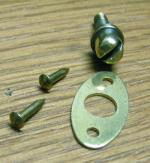 Western Electric Door Screw Kit - Brass