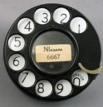 Western Electric 2AA Dial