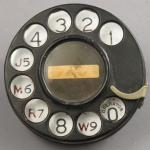 Western Electric - 2AE Dial -  (Notchless) Party Line Plate
