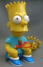 Bart Simpson Novelty Telephone