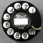Western Electric - 2AA Dial (Notchless)