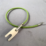 Transmitter - Cloth - Green - Pin to Spade - 9""