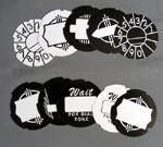 10 Assorted Dial Cards - AE Cut