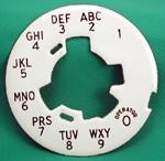 Northern Electric Alphanumeric Dial Plate