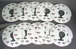 Restored 150B dial plate - Lot of 10