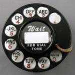 Western Electric 2AB Notchlesss Dial